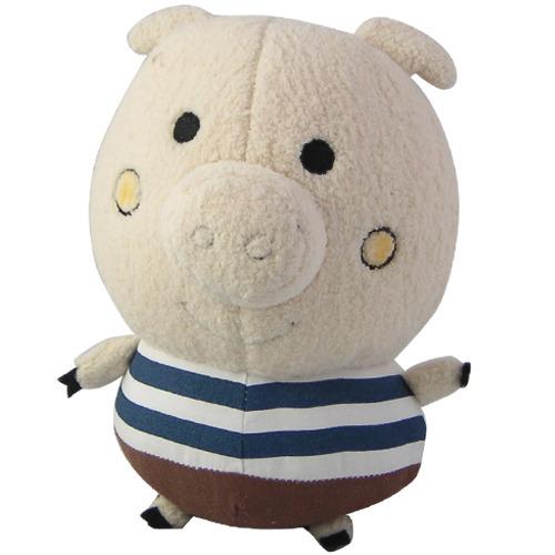 插画家素描立体大玩偶-小猪