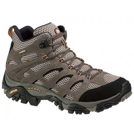 【鄉野情戶外專業】 Merrell |美國| Moab Mid GORE-TEX XCR 黃金鞋底中筒健行鞋 男款 _ML86901