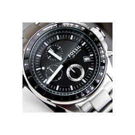 貨^~FOSSIL 時間之輪 風格 三眼計時碼錶賽車錶,展現自我 魅力 黑色 男錶 鐵帶