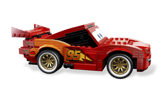 【amuzinc/酷比乐】lego 乐高 8484 cars系列/终极之星闪电麦坤