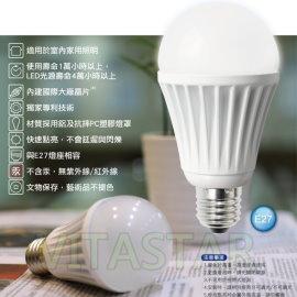 【響應億光LED燈泡電視廣告】ISO認證工廠-6W高效能LED燈泡 (相當40W白熾燈亮度, 一顆裝)(買多更划算!)(PHILIP LED|OSRAM LED)