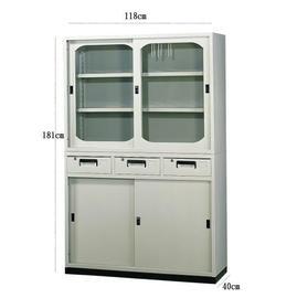 ~STYLEHOUSE~4x6中三抽公文櫃 圓框 .置物櫃.收納櫃.檔案櫃~ 免組裝 免