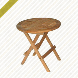 50cm折合茶几P020-218T-R(木桌子.原木桌.庭院桌.庭院傢俱.便宜