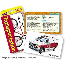 ~全彩印刷 T~23021~Transportation Pocket Flash Car