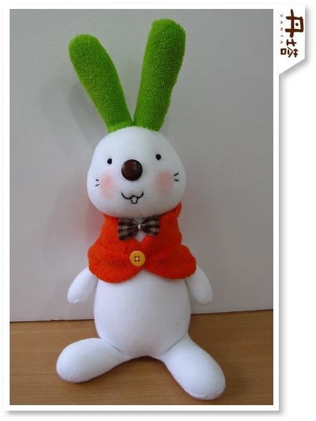 或者类似的电子版袜子娃娃的制作方法及图片啊?