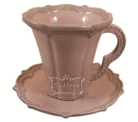 义大利手工制作蕾丝杯