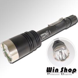 【winshop】TrustFire X8強光LED手電筒,國際專業美國純種CREE系列T6超強白光LED手電筒,高優質穿透光!!