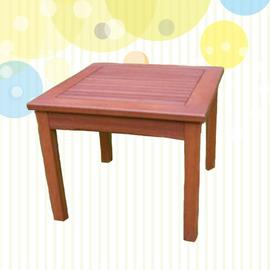 尤加利木茶几 P020-90220 (木桌子.原木桌.庭院傢俱.便宜)