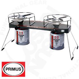 瑞典 Primus 最輕巧Njord 雙口爐(瓦斯爐)可摺疊爐腳.可調整火力,收納方便# 229095 (不含收納袋)