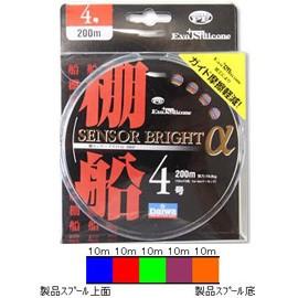 <彩釣具>DAIWA 魚線 光感明亮傳送α 4號 300m