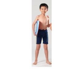 羽萱泳裝 C2716 男童七分泡湯、游泳兩用泳褲  M~EL  贈泳帽  150