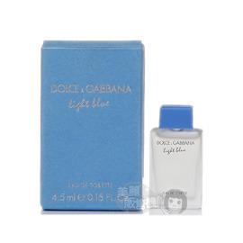 D  G Dolce  Gabbana Light Blue 淺藍中性淡香水^(4.5ml