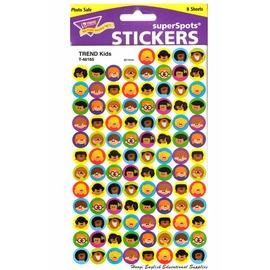 ~T~46165~Trend Kids Stickers 世界大同小朋友獎勵集點小貼紙