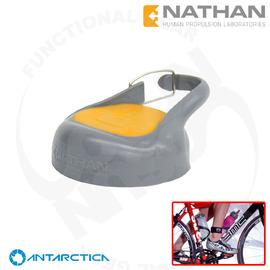 【美國 Nathan 】不鏽鋼水壺蓋子.運動蓋.大瓶口.輕巧便利.適用所有瓶身# NA4000N-灰/黃