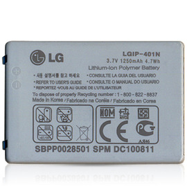 【1250mAh】LG Optimus Chic E720/E-720 LGIP-401N 原廠電池/原電/原裝電池