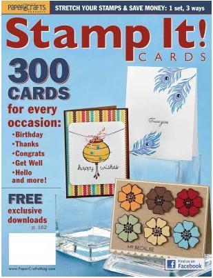 手工卡片杂志 - stamp it ! cards