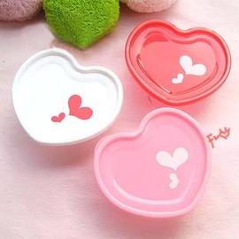浪漫情人節組合商品(心心相印~超值4件組)~愛心便當盒+愛心微波煮蛋器+愛心香皂盒+愛心牙刷架