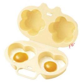 愛心微波煮蛋器/微波蒸蛋盤/造型煮蛋器