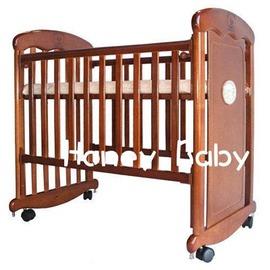 Mother s Love 6188紅木 小搖擺床 床板高度可三段調整
