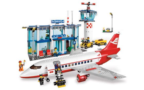 爱玩耍玩具乐园 城市系列  乐高lego city系列【3182 飞机场 】 @703