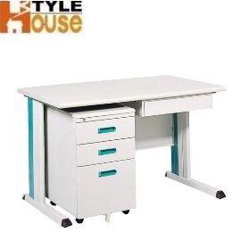 ~ 屋~120CM 灰色KD辦公桌櫃組 電腦桌^(KD~120C^) ^(免 ^)