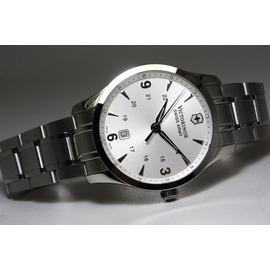VICTORINOX 瑞士維氏 Alliance 聯盟系列 紳士腕錶~銀白 40mm^(2
