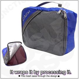 【ADISI】旅遊達人 輕量單層衣物打理包(小)/行李包/手提包/整理袋/收納袋/裝備袋/分類袋. 露營.旅行打工.登山/藍 AS10006