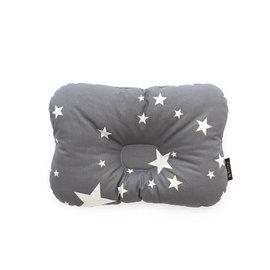 韓國【 Borny 】3D透氣蜂巢塑型嬰兒枕(0~6個月適用) (灰星星)
