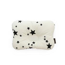 韓國【 Borny 】3D透氣蜂巢塑型嬰兒枕(0~6個月適用) (白星星)