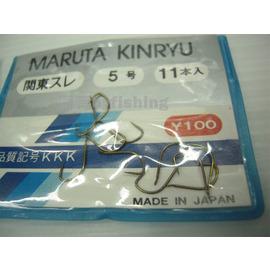 ◎百有釣具◎日本老牌 MARUTA KINRYU 金龍鉤 關東スレ 規格5號/6號/7號
