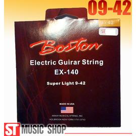 ST Music Shop~~超 ~美國BOSTON電吉他絃(09~42)EX~140套弦
