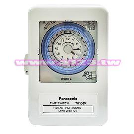 【民權橋電子】Panasonic 國際 Time Switch 定時開關,AC110 TB356K T6
