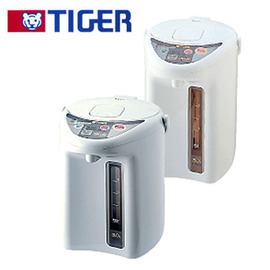 ~ TIGER虎牌~3L微電腦3段恆溫控電動電熱水瓶^(PDH~B30R^)~微電腦傾斜防