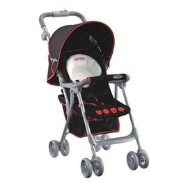 《愛吾兒》美國 GRACO-Citi Sport EDT dlx 輕便型單向嬰幼兒手推車 甜心黑紅-豪華版