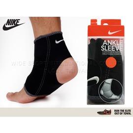 ≡排汗專家≡ NIKE 耐吉-ANKLE SLEEVE護踝套-黑L(運動 護具)【9337002020】