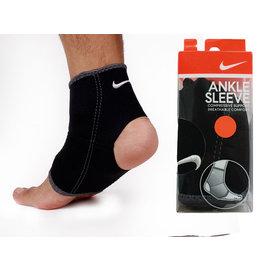 ≡排汗專家≡ NIKE 耐吉-ANKLE SLEEVE護踝套-黑M(運動 護具)【9337001020】