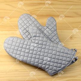 【艾佳】SJ33銀色耐熱手套/個