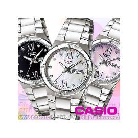 CASIO手錶 卡西歐 SHEEN SHE~4022D 女錶 珍珠母貝錶盤 施華洛世奇 不