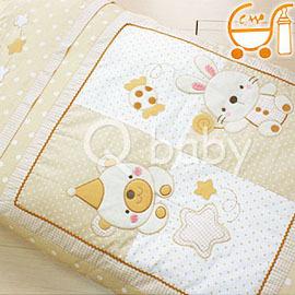 Qbaby GMP Baby 熊兔點冬夏兩用防蹣純棉幼教睡袋