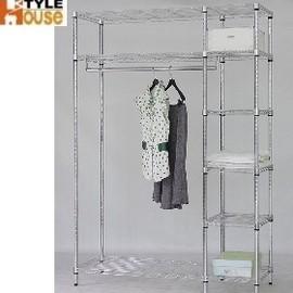~ 屋~鐵力士六層大衣櫥附布套^(WR~426^)^(免  製^)衣斗櫃•鏡台•化妝桌•房