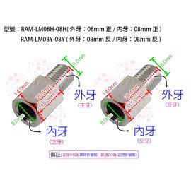 ~MuMo~車鏡 後視鏡 後照鏡 照後鏡 螺絲 M8 8mm 加高螺絲 轉接座 增高座 加