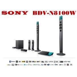⊙鈞釩音響⊙SONY公司貨 BDV-N8100W 3D藍光家庭劇院 4K WIFI