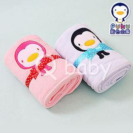 Qbaby PUKU 藍色企鵝 午安枕.柔毯