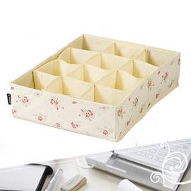 12格DIY收納盒30x11x42cm(桌上收納盒 C015-7172.置物盒.儲物盒.領帶盒.小集盒.便宜.推薦)