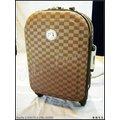 《熊熊先生》美國NINO 1881四輪18吋行李箱旅行箱/登機箱方格紋款+好禮+另有優惠