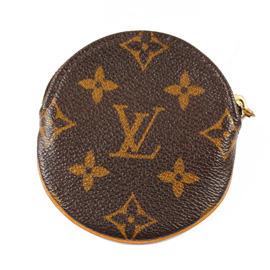 【8.5成新】Louis Vuitton LV M61926 經典格紋圓形零錢包現金價$4,800