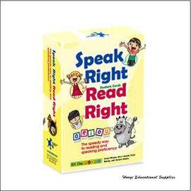 ~HYIL~1009~Speak Right Read Right~Kit One 說得好
