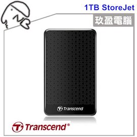 【破盤殺】創見 SJ25A3 USB3.0 1TB 2.5吋  輕薄行動硬碟 TS1TSJ25A3K 免運費 隨身硬碟 行動硬碟 懸吊式防震行動硬碟 效能美型兼顧