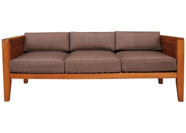 柚木家具 vino时尚沙发组 三人座沙发