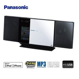 ★牌面品出清★ Panasonic國際牌 iPod/iPhone/MP3薄型組合音響 SC-HC35 **免運費**